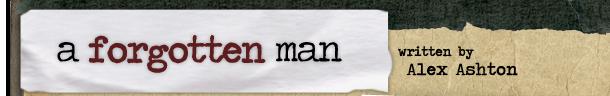 a forgotten man logo